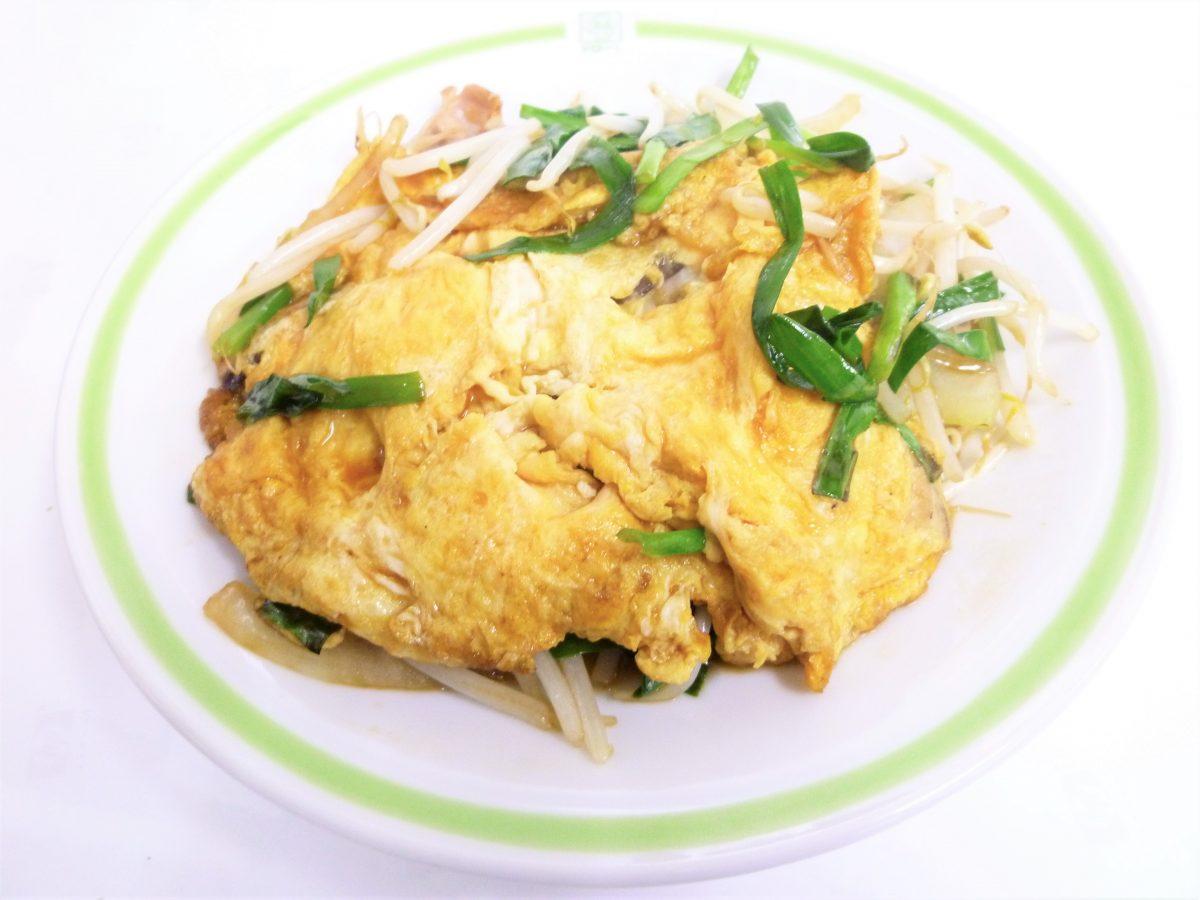 ニラ玉炒め定食